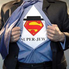37570e039 Super Jew! ZionGifts.com Judaica from Israel · Israel T-shirts ·
