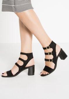 Miss Selfridge - FERRERA - Sandali con cinturino - black
