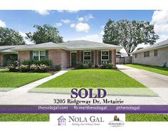 3205 Ridgeway Dr, Metairie, LA 70002 - $255,000 - 3bed/2bath - Single Family Home - New Orleans Area Real Estate - http://www.thenolgal.com