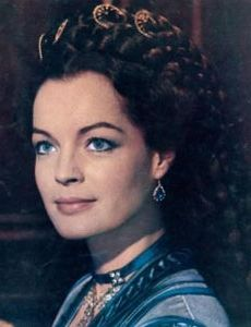 Romy Schneider as Sisi in Ludwig  (Luchino Visconti, 1972; Loved her in the Marischka trilogy but I like her better in this. Elizabeth of Austria