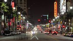 media.gettyimages.com videos busy-street-at-night-los-angeles-california-usa-video-id105240532?s=640x640