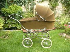 Oválná Liberta Vintage Pram, Prams And Pushchairs, Dolls Prams, Baby Prams, Retro, Baby Dolls, Baby Strollers, Victorian, Children