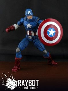 Captain America (Marvel NOW) (Marvel Legends) Custom Action Figure by raybot