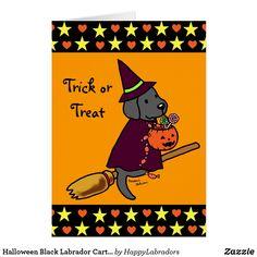 Shop Halloween Chocolate Labrador Cartoon 1 Card created by HappyLabradors. Halloween Chocolate, Halloween Treats, Holiday Cards, Christmas Cards, Labrador Retriever, Retriever Puppies, Lab Puppies, Black Labrador, Trick Or Treat