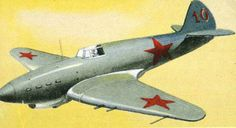 WWII Soviet I-18 Fighter Free Aircraft Paper Model Download