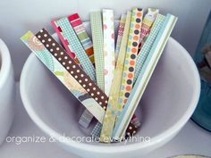 DIY twist-ties. Great for wrapping gifts! craft-ideas
