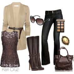 Romantic at Heart, created by keri-cruz on Polyvore