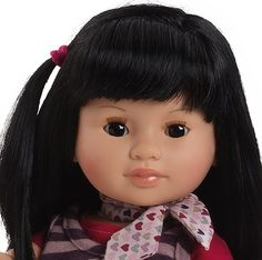 Paola Reina Soy Tu Amor African American 17 Doll (Made in Spain)