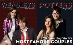 Wizarding Weekly Spread: The Weasleys and Potters by nhu-dles.deviantart.com on @deviantART