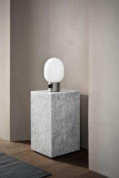 Menu piedestal marmor