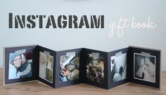 Pillow Thought: Gift Idea // for the husband - instagram gift book - photo gift