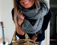 obsession over scarfs.