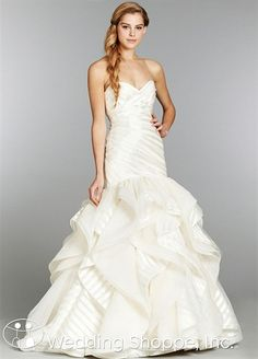 Hayley Paige Keaton Bridal Gown. Hmmm... Does this come in another color, cause we all know I won't be getting married. Lol.