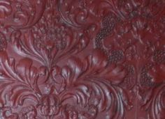 Raised red damask wallpaper......somebody please tell me where to find this!