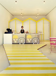 Beautiful design!  Get ice cream store equipment from www.turnkeyparlor.com