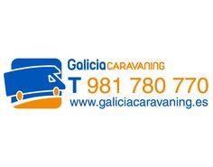 Diseño de pegatinas Galicia Caravaning (2012)