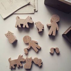 Let your #child #creates his own #story  #woodtoy #handmadetoys #learningthroughplay #woodentoys #waldorfinspired #playtime #toystagram #madewithlove #designforkids #mielasiela