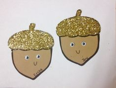 Super cute, but you will be covered in glitter forever. You could easily just use a different colored paper for the top if you want to avoid sparkling like Edward Cullen for the next week Ra Door Tags, Door Decs, Fall Arts And Crafts, Autumn Crafts, Preschool Crafts, Classroom Crafts, Classroom Door, Classroom Displays, Dorm Name Tags