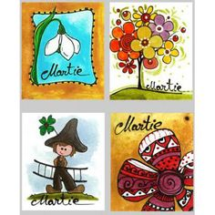 Martisoare cu mini-felicitari 1 martie - Curtici - Sc Festart Studio Srl, ID: 9026209 8 Martie, Diy And Crafts, Hand Painted, Studio, Floral, Handmade, Painting, Hand Made, Flowers