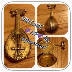 HP VINTAGE AVON UKULELE PILLBOX This is indescribable! One of a kind find! Heavy metal! Had to show it off to my vintage PFFs! HOST PICK Best in Jewelry and Accessories by @gonecoastal  Vintage Accessories Key & Card Holders