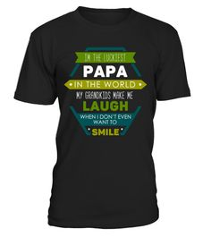 # Family luckiest papa T-Shirt .  Tags: personalized, papa, roach, best, grandfather, design, customize, tees, shirts, Granny, Grandpère, Grandmère, Grandad, Fête, Des, Pères, Fathers, Day, Daddy, Bébé, veteran, us, army, papaws, boy, twin, the, myth, rocks, legend, legba, extraordinaire, nana, papa, love, funny, big, pump, barbapapa, Grandpa, Funny, Father's, Day, Family, Daddy, women, usa, tshirt, the, myth, man, legend, man, lowest, price, limited, edition, proud, papas, gift, idea, and…