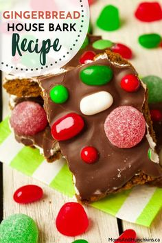 Want a hassle free alternative to the much dreaded yearly Gingerbread House? Learn how to make these equally delicious and less time consuming Gingerbread House Barks! You can check out the recipe here to get started.