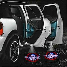 Wireless Car Door Projector Logo Step Ghost Shadow Light For Ford ROUSH Stage 3