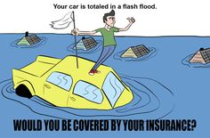 If your personal vehicle is damaged by flooding will your car insurance policy pay? We will answer this question after lunch! www.countrysideins.com