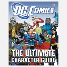 DC Comics: Character Guide, $16, now featured on Fab.