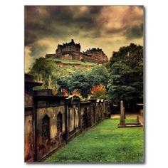 Edinburgh-Schloss - antike Art