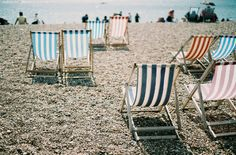 Summer at the British Seaside.