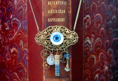 Glass Eyeball Necklace