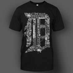 Detroit D Black : MerchNOW