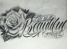 Chicano Lettering Source by Dope Tattoos, Pretty Tattoos, Leg Tattoos, Body Art Tattoos, Tattoos For Guys, Sleeve Tattoos, Tattoos For Women, Tatoos, Clock Tattoos