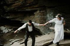 Blue Ridge Parkway Waterfall Elopement | Asheville Wedding Photographer — Asheville Wedding and Elopement Photographer Blue Ridge Parkway, Blue Ridge Mountains, Local Art Galleries, Vow Book, Mountain Elopement, Asheville, Waterfall, Art Gallery, Photoshoot