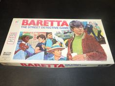 A personal favorite from my Etsy shop https://www.etsy.com/listing/386564180/milton-bradleys-baretta-the-street