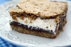 More S'mores Cookie Bars. Maybe one of these days I will actually make one of these S'mores related desserts...