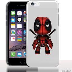 Coque iPhone 6 Apple | Desing Dead Pool Mini | Dimension 4.7 pouces | Coque rigide | Housse silicone