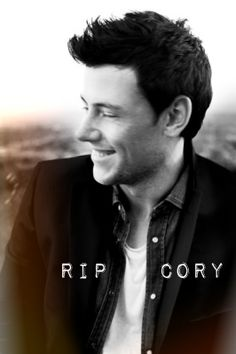 Cory Monteith. Rest in Peace.