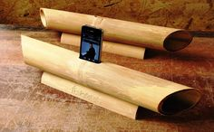 A power-free speaker that thrives on natural acoustics to amplify music from your phone? Yep. Handcrafted out of sustainable bamboo, the iBam, as its name
