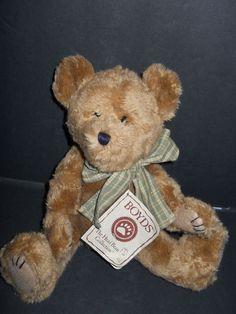 Dubley Boyds Bear Plush Stuffed Toy H.B.'s Heirloom Series #510309 #boydsbear #boyd #dubley #plush #bear #teddybear #collectibles
