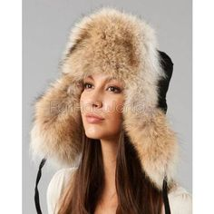 $189, FRR Coyote Fur Suede Russian Hat. Sold by FurHatWorld.com. Click for more info: https://lookastic.com/women/shop_items/124121/redirect