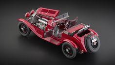 CMC M-138 Alfa Romeo 6C 1750 GS 1930 04