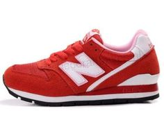 New Balance Dames sneakers 996 Red White online kopen