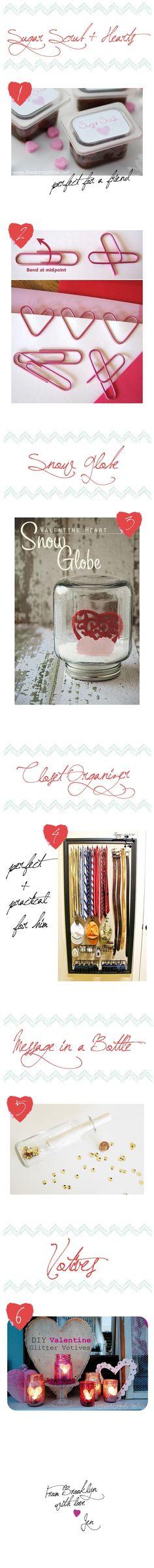 DIY Valentine's Day Gifts #crafts