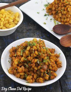 Dry Chana Dal Recipe