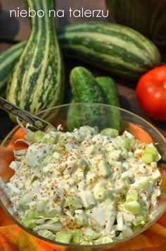Appetizer Salads, Instant Pot Dinner Recipes, Christmas Appetizers, Polish Recipes, Tortellini, Kraut, Food Dishes, Cucumber, Potato Salad