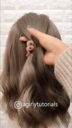 Braid hairstyle for Cute girl —Visit website to Get more braided hair tutorial braidstyles hairtutorial hairvideos braidedhair videotutorial dutchb. - Braid hairstyle for Cute girl —Visit website to Get more braided hair tutorial Easy Hairstyles For Long Hair, Wedding Hairstyles, Step Hairstyle, Hairstyle Tutorials, Everyday Hairstyles, Formal Hairstyles, Boho Hairstyles, Haircut Long Hair, Beautiful Hairstyles