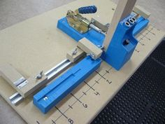 Shopmade Flip Stops for former Kreg 2000 Pocket Hole Jig