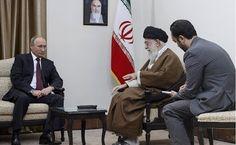 President of Russia Vladimir Putin met with Supreme Leader and spiritual leader of the Islamic Republic of Iran Ayatollah Ali Khamenei during his working visit to Iran.